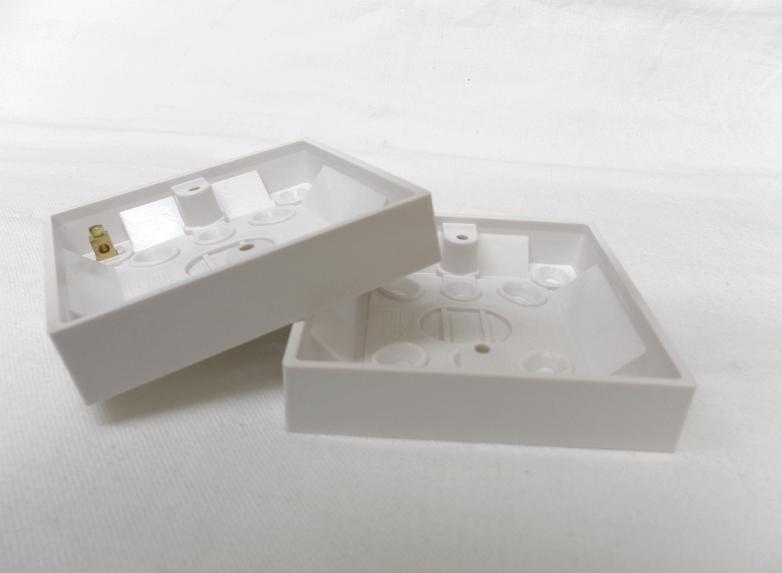 PATTRESS BOX 1 GANG  16mm