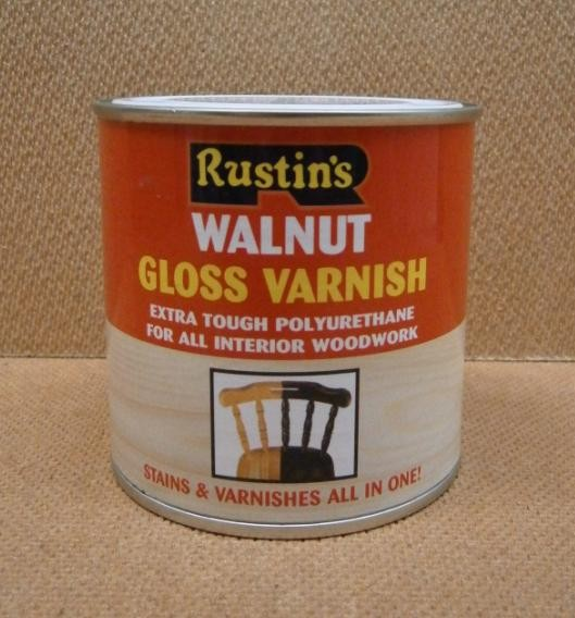 POLY VARNISH       250ml^WALNT