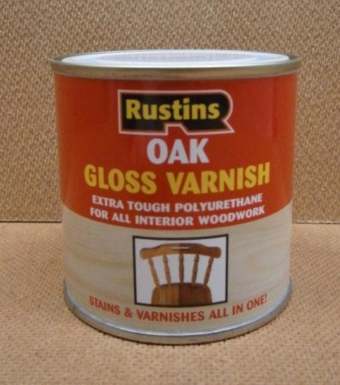 POLY VARNISH GLOSS 250ml OAK