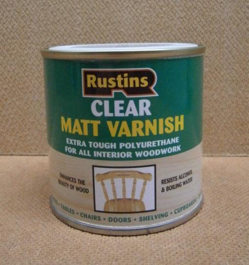 POLY VARNISH MATT  250ml CLEAR
