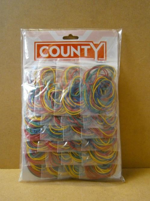 RUBBER BANDS ASSORTED      x24