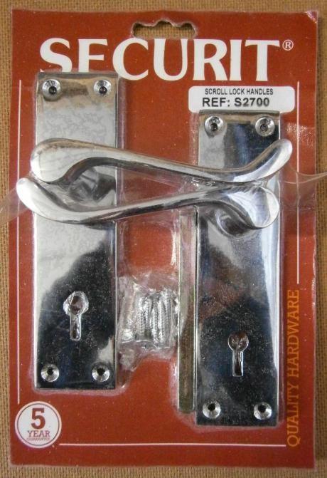 SCROLL LOCK HANDLES C.P. SECURIT