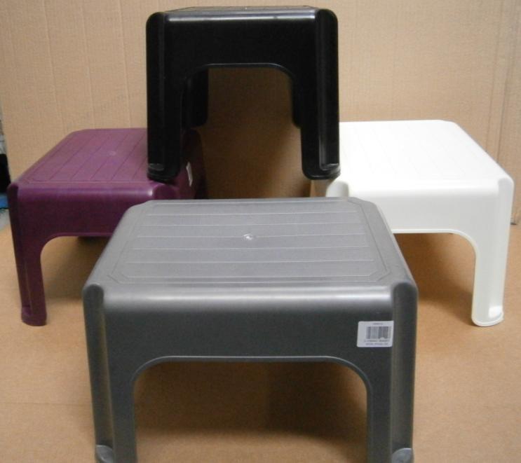 STOOL 40cm                   - WHITEFURZE