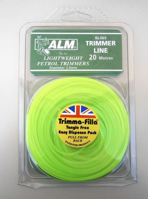 TRIMMER LINE 2.0mm GREEN SL003 ALM
