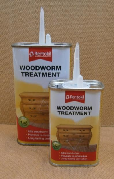 WOODWORM TREATMENT   250ml RENTOKIL