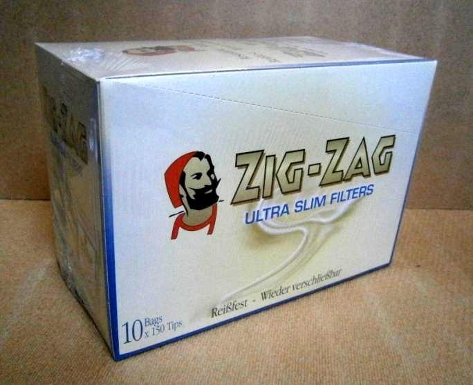 ZIG ZAG FILTERS ULTRA SLIM x10