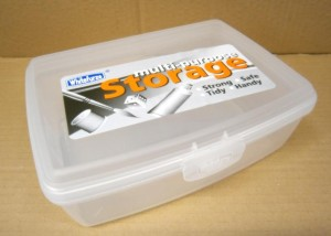 ALLSTORE HINGED 1 LTR        D WHITEFURZE