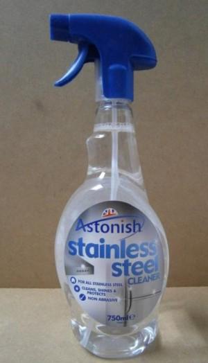 ASTONISH S/STEEL CLEANER ASTONISH