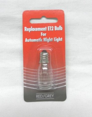 AUTO NIGHT LIGHT BULB   E08