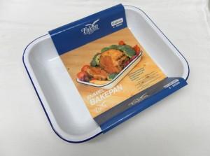 BAKE PAN        31cm  WHITE