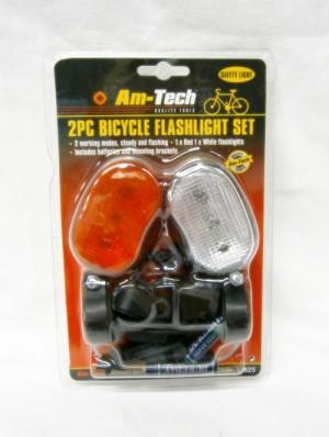 BICYCLE FLASHLIGHT SET 2PCS
