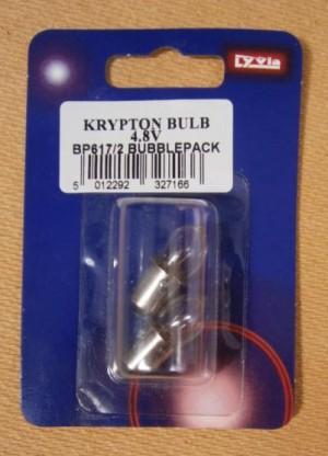 BULB KRYPTON  4.8V 2PK       D