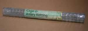CAGE/AVIARY NETTING 1.5x0.6M D