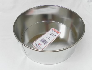 "CAKE PAN DEEP RND 25x9cms 10"""