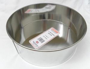 "CAKE PAN DEEP RND 28x10cms 11"""