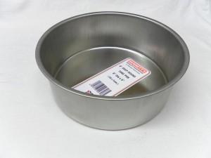 "CAKE PAN RND L/BASE 20x7cm 8"""