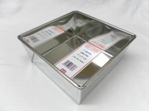 """CAKE PAN SQR 18x18x7cm 7"""""""
