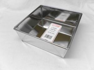 """CAKE PAN SQR 20x20x7cm 8"""""""