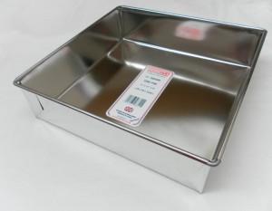 """CAKE PAN SQR L/B 28x28x7cm 11"""""""