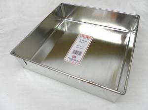 """CAKE PAN SQR L/B 30x30x7cm 12"""""""