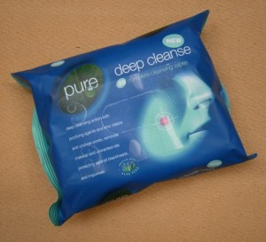 DEEP CLEANSE WIPES          6 GREEN SHIELD