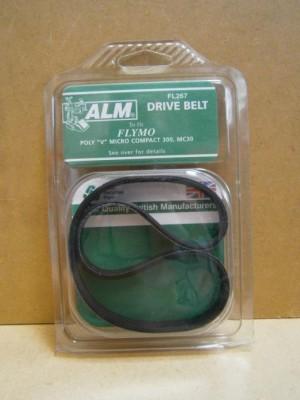 DRIVE BELT POLY `V'   FL267  D7 ALM