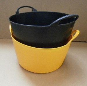 FLEXI TUB SMALL          BLACK