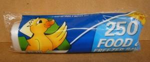 FOOD & FREEZER BAGS 250PK
