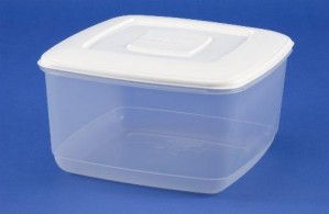 FOOD BOX  10.0 ltr SQ WHITEFURZE