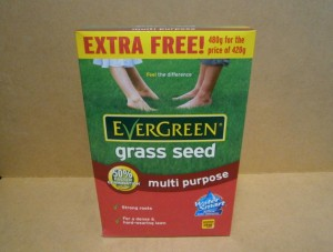 GRASS SEED EVERGREEN 480Gms
