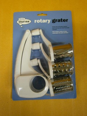 GRATER SET ROTARY