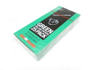 GREEN ROLLING PAPERS 25PK