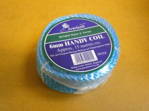 HANDY COIL 15mt 6mm