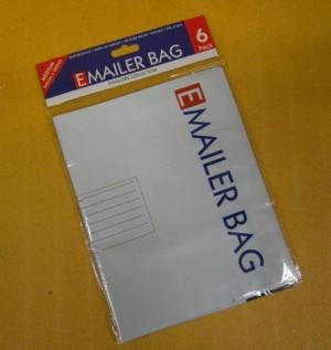 MAILER BAG A4 240x320mm x6 **