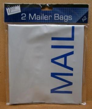 MAILER BAG EX LRG 2PK        D