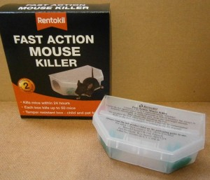 MOUSE KILLER FAST ACTION