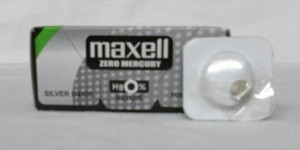 OXIDE BATTERY 317 MAXELL