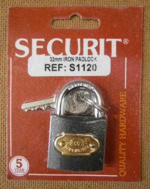 PADLOCK TRICIRCLE 32mm SECURIT