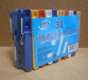 PEGS EX-GRIP PLASTIC SPRING 30