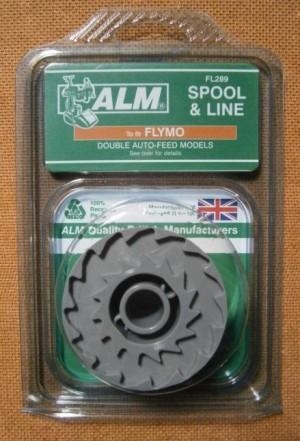 SPOOL & LINE FLYMO D/FEEDFL289 ALM