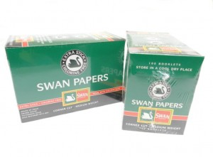 SWAN PAPERS GREEN         100