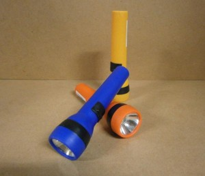 TORCH PLASTIC AA SIZE