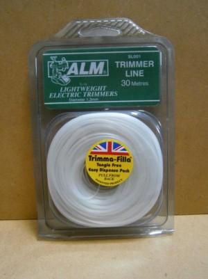 TRIMMER LINE 1.3mm WHITE SL0017 ALM