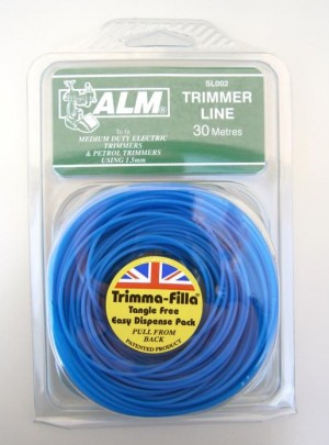 TRIMMER LINE 1.5mm BLUE  SL0027 ALM