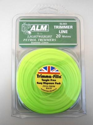 TRIMMER LINE 2.0mm GREEN SL0037 ALM
