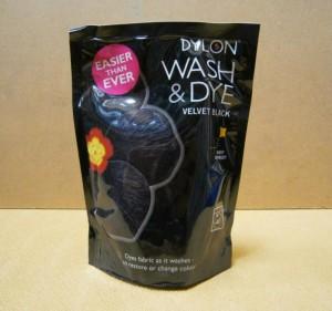 WASH & DYE BLACK