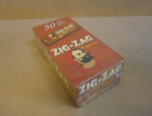 ZIG ZAG PAPERS LIQUORICE  x50