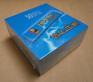 ZIG ZAG SLIM BLUE KS  **  50
